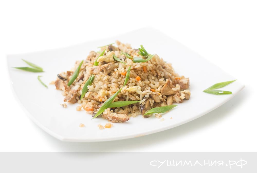 Рис Тяньшань с курицей