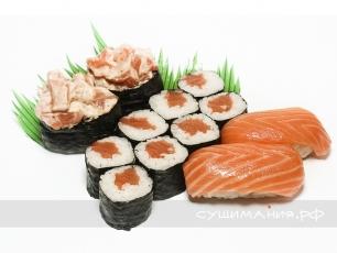 Сет с лососем